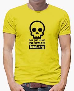Camiseta hombre letal.org