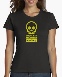 Camiseta mujer letal.org
