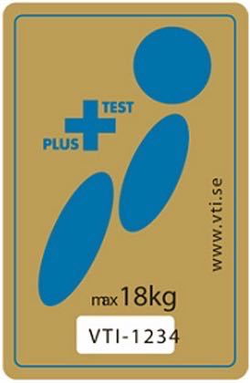 Sello <strong>Plus Test</strong>