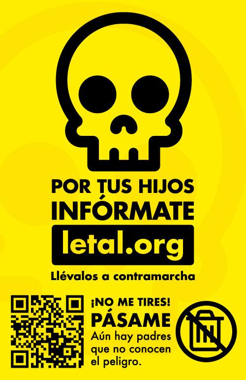 Tarjeta de visita letal.org